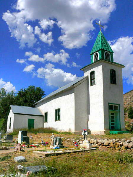 Church Near Hondo, NM