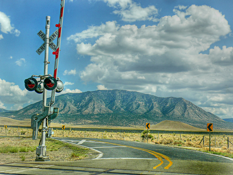 Railroad Crossing-NM
