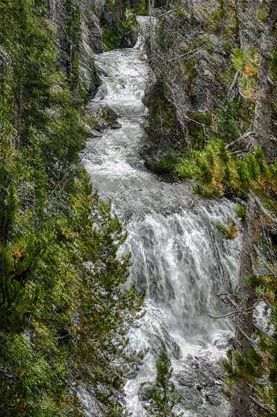 Kepler Cascades, Yellowstone
