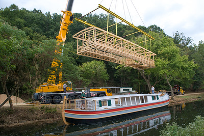 Bringing Down the Mercer's Second Deck
