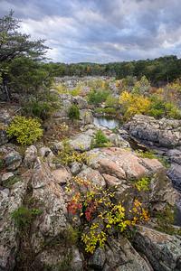 Fall's Dramatic Colors on Bedrock Terrace 1