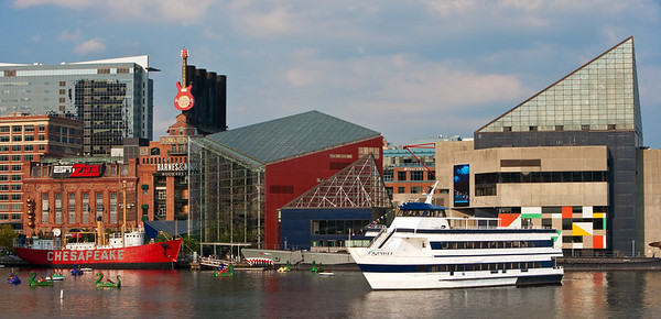 """Spirit of Baltimore"" in Harbor"