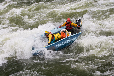 Crossing the Rapids Below Great Falls