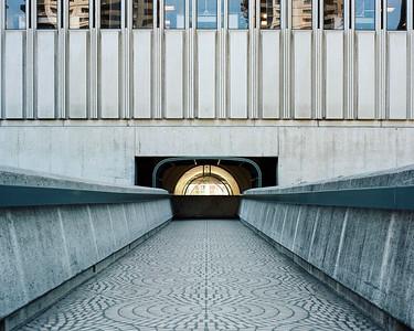 The Tunnel At Embarcadero. San Francisco, 2019