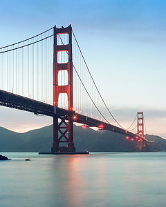 Golden Gate at the Golden Hour. San Francisco, 2019