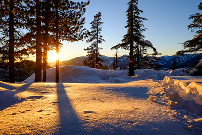 Alpine Snowshoeing