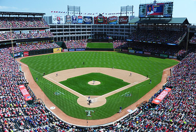 Arlington Stadium, home of the Texas Rangers