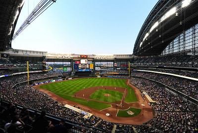 One of my favorite ballparks, Miller Park