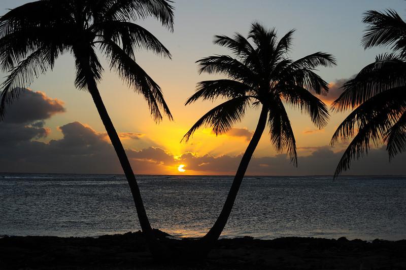 Sunset, Cayman Island