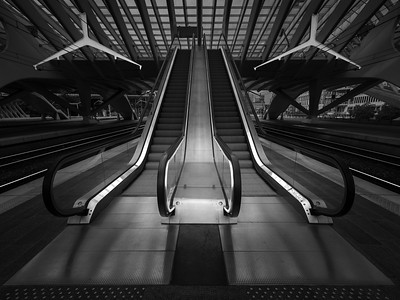 Escalators and Overhead Line Structures