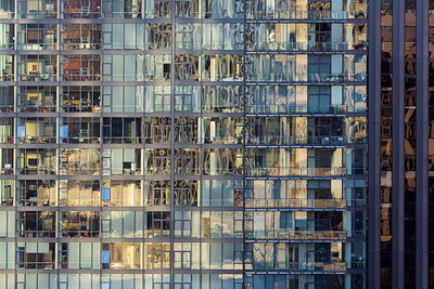 Apartment Building's Reflections