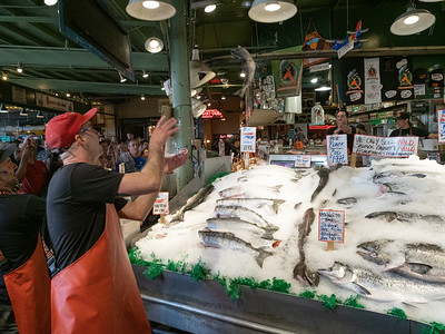 Tossing Fish at the Market