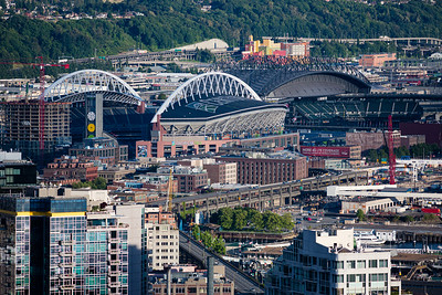 The Stadiums: CenturyLink Field and T-Mobile Park