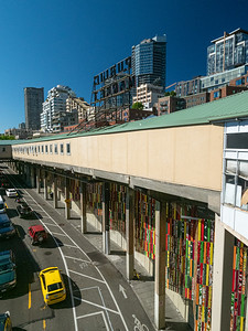 Below Pike Place Market