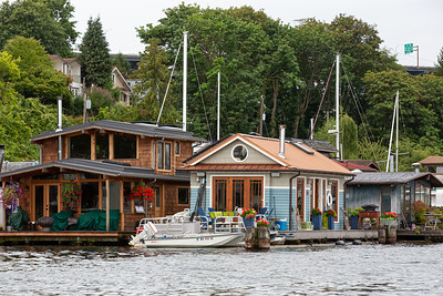 Houseboats Along the Eastern Shore # 5
