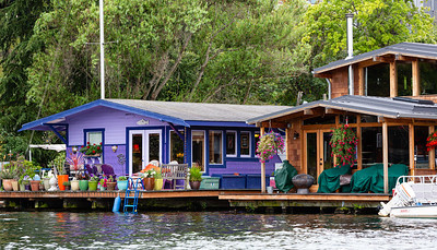 Houseboats Along the Eastern Shore # 6
