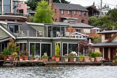 Houseboats Along the Eastern Shore # 4
