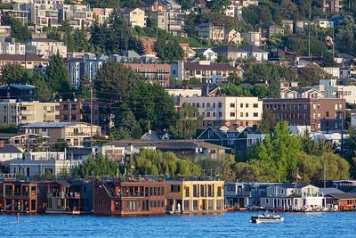 Houseboats Along the Eastern Shore # 10