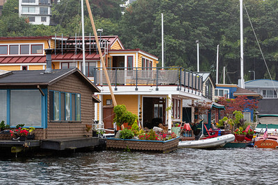 Houseboats Along the Eastern Shore # 1
