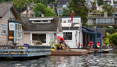 Houseboats Along the Eastern Shore # 3