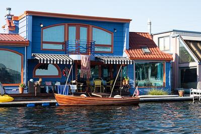 Houseboats Along the Eastern Shore # 8
