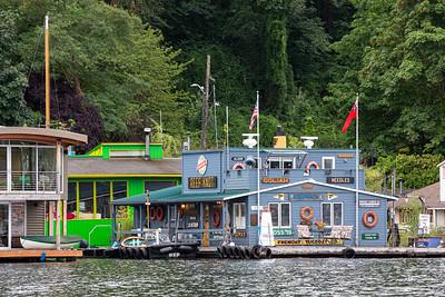 Houseboats Along the Eastern Shore # 2