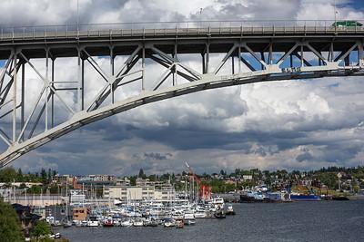 Aurora Bridge Facing East
