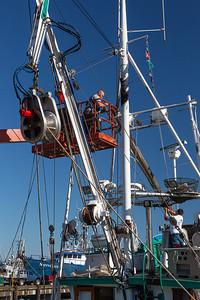 Repairs at a Shipyard