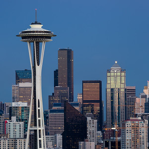 The Space Needle from Kerry Park # 2