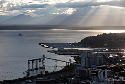 Elliott Bay from the Space Needle