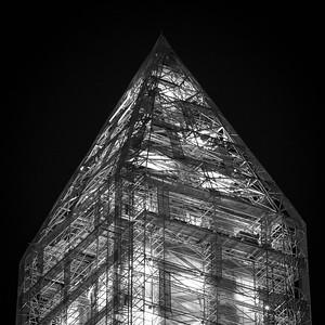 Washington Monument's Top Under Restoration