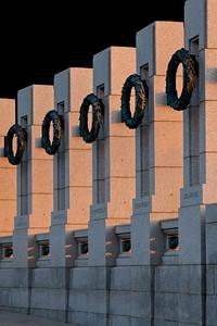 State Pillars at Sunset