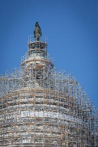 Dome Under Restoration