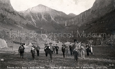 1995-114-07: Telluride Band in Bridal Veil Park