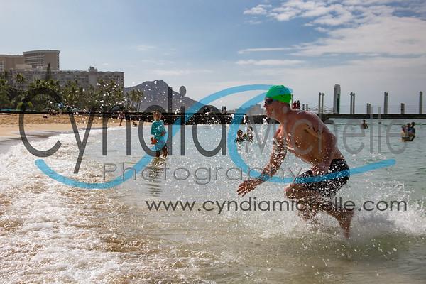 Waikiki Roughwater Swim 2017