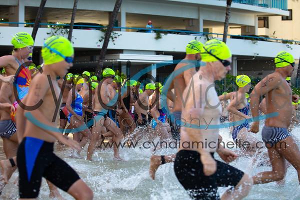 Waikiki Roughwater Swim 2018