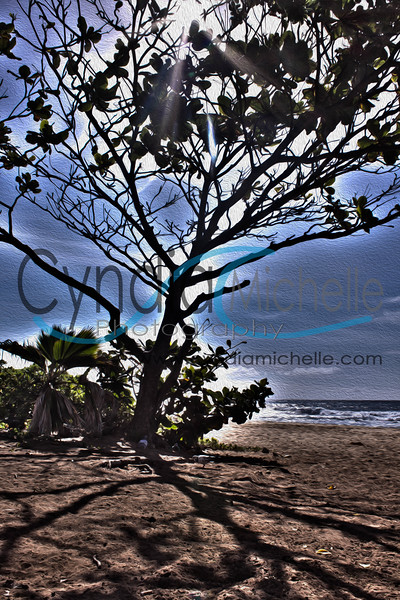 HDR photo from Sandy Beach on October 1, 2012