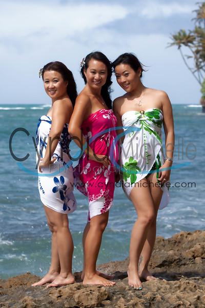Beach Portrait near Diamond Head, Oahu