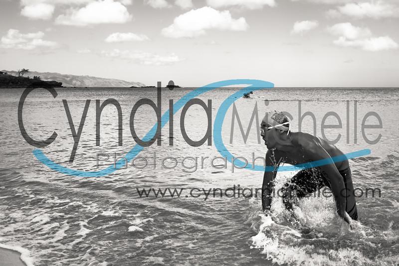 Jayson Hagi Swimming at Waimea