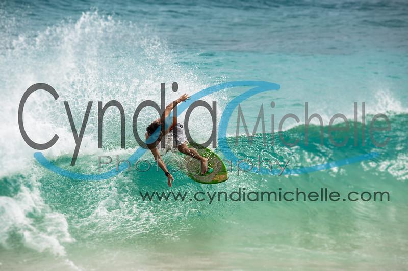 Jon Skimboarding Sandy Beach, Oahu