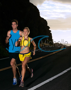 Running the Kaiwi Coast, Editorial Crop