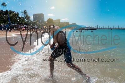 Waikiki Roughwater Swim 2016
