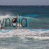 Nicholas Simone surfing Sandy Beach on April 8, 2014
