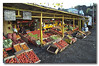 A colourful assortment of fruits and vegetable in Puerto Varas, Chile.