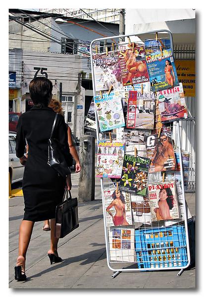 Heh...some girly magazines. Niteiroi, Rio de Janeiro, Brazil.