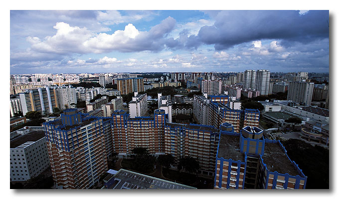 A cloudy day in Toa Payoh.