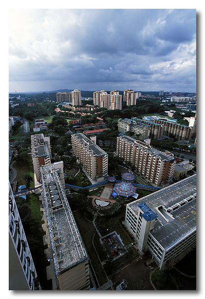 A cloudy view too! Toa Payoh.