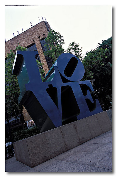 LoVe is everywhere!! Park Mall.