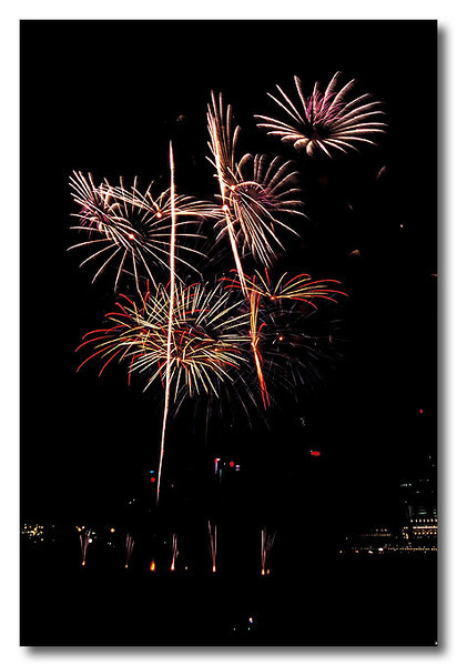 Random. Singapore Fireworks Festival.