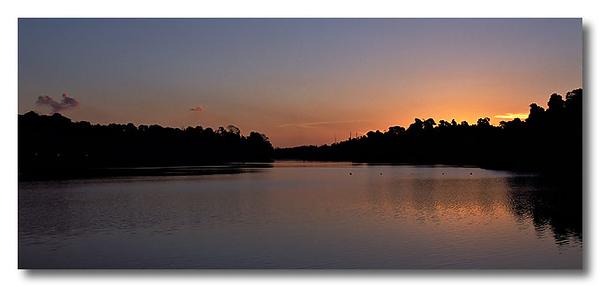Sunset. MacRitchie Reservoir.